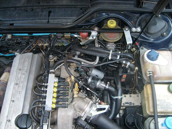 größeren gastank im auto einbauen